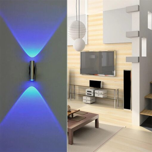 Double-headed Wall Lamp Living Area