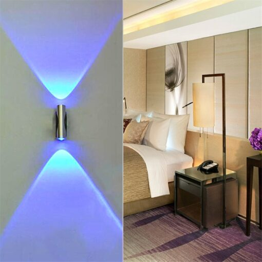 Double-headed Wall Lamp Bedroom