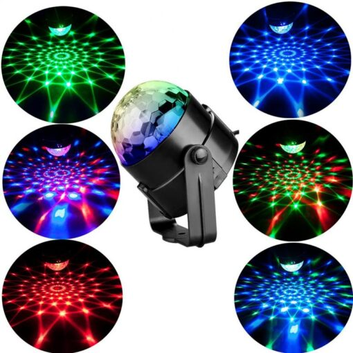 LED Disco Ball Lighting Color Styles