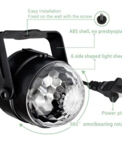 LED Disco Ball Features
