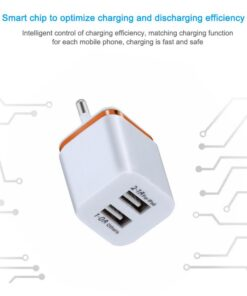 Dual USB Wall Charger – Optimize Charging & Efficiency