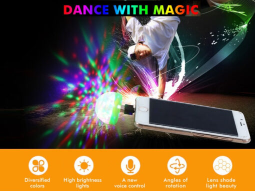 Portable Party Light Features