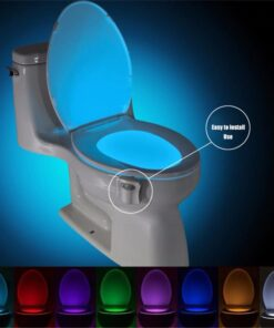 Toilet Seat Night Light LED Multi Colors