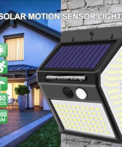 Outdoor Solar Light Angled View