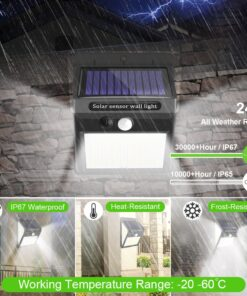 Outdoor Solar Light Informational