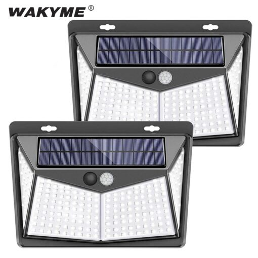 Outdoor Solar Light Front View