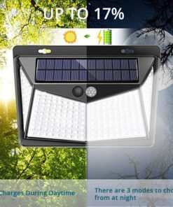 Outdoor Solar Light Night Modes