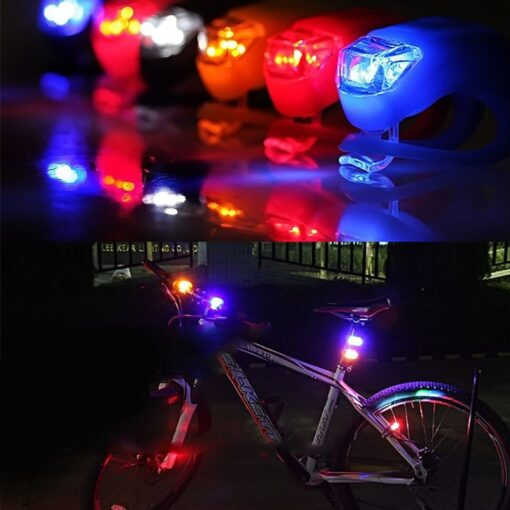 Bike Mounted Safety Lights