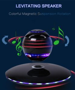 Magnetic Levitating Rotating Bluetooth Speaker