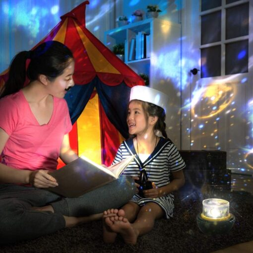 Childrens Night Light & Projection Combo