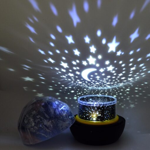 Star Skies Night Projection Lamp