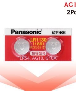 2 Piece LR54 Button Cell Batteries