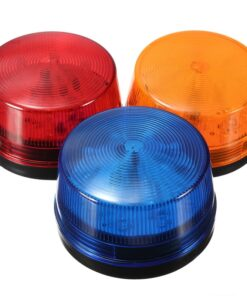Pro Strobe Safety Warning Light Colors
