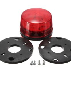Pro Strobe Safety Warning Light Red