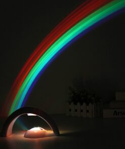 Rainbow Projector Night Lamp