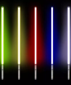 Lightsabers in 5 Colors