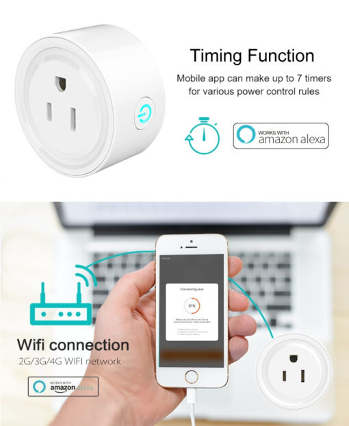 Smart Plug Home Automation Timing Functions