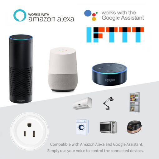 Smart Plug Home Automation Amazon Alexa and Google Assistant Compatible