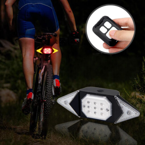RC Tail Light Indicator for Bikes