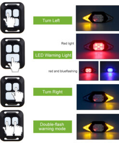 RC Tail Light Indicator Stages