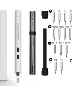 Lightweight Precision Screwdriver Overview