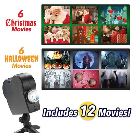 Holiday Projector Decoration