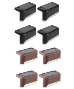 Solar Edge Lights 4 piece black or brown body