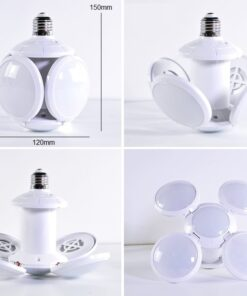 Adjustable Lamp Ceiling Light 4 Spherical Dimensions