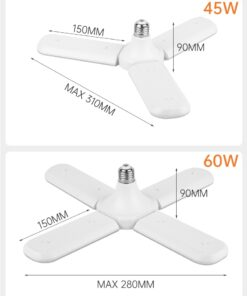 Adjustable Lamp LED Ceiling Light Dimensions