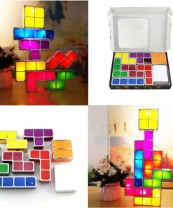 Tetris Light Up Game Decor